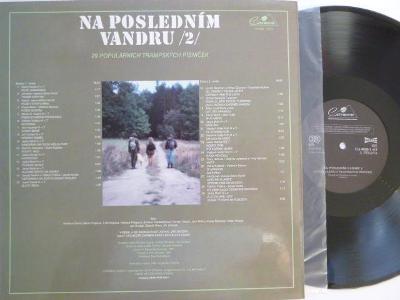 NA POSLEDNÍM VANDRU 2 JIŘÍ ZMOŽEK Sláva Kunst orchestr /29 tramp písní
