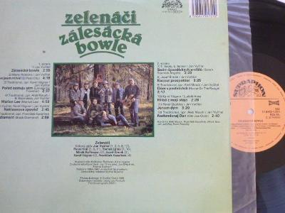 ZELENÁČI - Zálesácká bowle 1988/ Vyčítal  Král  Linka Hoffman Šimek