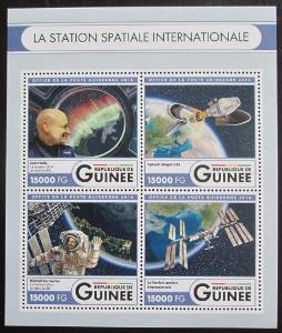 Guinea 2016 Mezinárodní vesmírná stanice Mi# 12106-09 Kat 24€ 0775