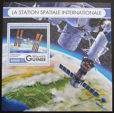 Guinea 2016 Mezinárodní vesmírná stanice Mi# Block 2717 Kat 20€ 0775