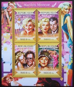 Guinea 2015 Marilyn Monroe Mi# 10972-75 Kat 20€ 0954