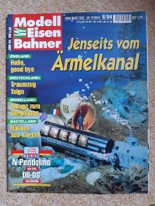 Modell Eisen Bahner časopis doprava železnice modelová č. 1, r. 1993