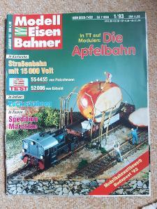 Modell Eisen Bahner časopis doprava železnice modelová č. 6, r. 1994