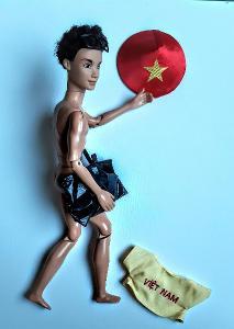 Saty pro kena tricko a kloboucek china style