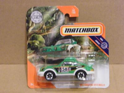MATCHBOX -'85 PORSCHE 911 RALLY