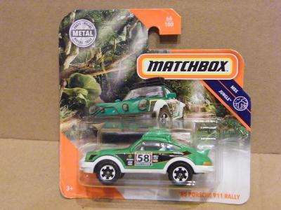 MATCHBOX - '85 PORSCHE RALLY