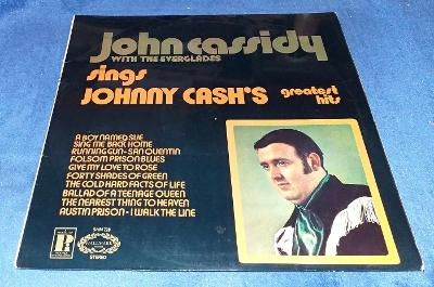 LP John Cassidy With The Everglades - Sings Johnny Cash's Greates