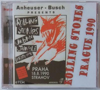 Rolling Stones - Live in Praha, Strahov 1990 - neoficiální 2CD