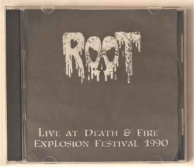 Root - Live at Death & Fire Explosion Festival 1990 - neoficiální CD