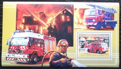 Guinea 2006 Britští hasiči DELUXE Mi# Block 1074 2024