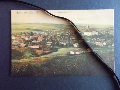 Nový Jičín Neu Titschein Bílovec Wagstadt celkový dohled lakovaná