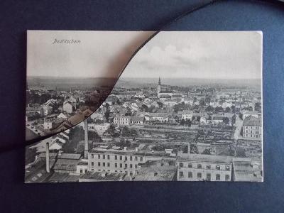 Nový Jičín Neu Titschein Sudety panorama města