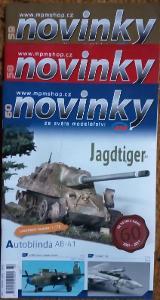 3x Modelářský časopis Novinky ročník 2011