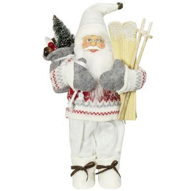 Vánoční dekorace Santa Ježíšek bílý 30 cm