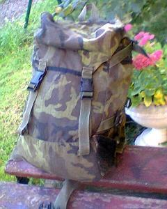 Vojenský batoh tlumok TL 20 průzkumník para vz 95 po jehličí mlok