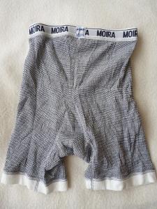 Pánské spodní prádlo, boxerky, MOIRA, nové, vel. S, šedý odstín