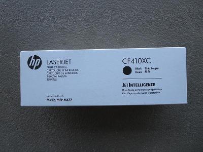 original HP toner CF410X černý, nový