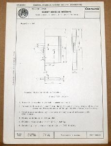 STARÁ NORMA ČSN 16 5155 1956 STAVEBNÍ KOVÁNÍ ZÁMKY NÁLEZOVÝ STAV