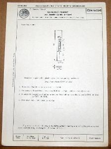 STARÁ NORMA ČSN 16 5245 1956 STAVEBNÍ KOVÁNÍ ZÁMKY NÁLEZOVÝ STAV
