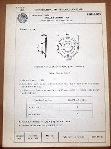 STARÁ NORMA ČSN 16 6473 1957 NÁBYTKOVÉ KOVÁNÍ NÁLEZOVÝ STAV