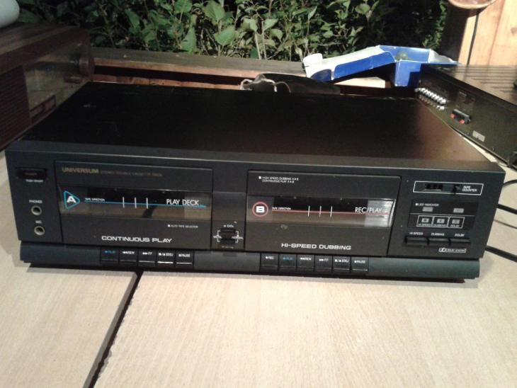 Kazetový magnetofon UNIVERSUM C 4391 - viz foto - TV, audio, video