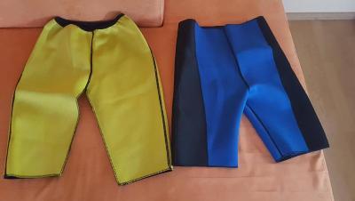fitness - 3x sauna šortky pro hubnutí stehen + 1x sauna belt