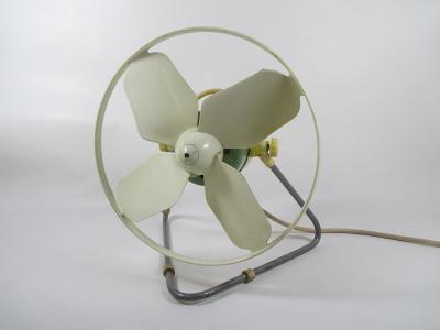 Retro ventilátor OMNIA 60 léta Brusel , funkční
