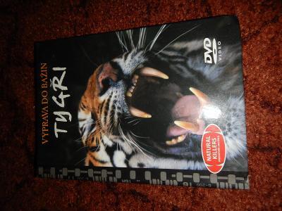 DVD s knihou Výprava do bažin - Tygři