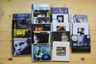 Sbírka 25 CD Sting