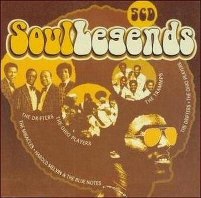 SOUL LEGENDS: The Best Of - DÁRKOVÁ EDICE (5CD)