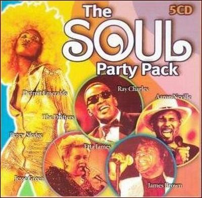 SOUL PARTY PACK: The Best Of - DÁRKOVÁ EDICE (5CD)