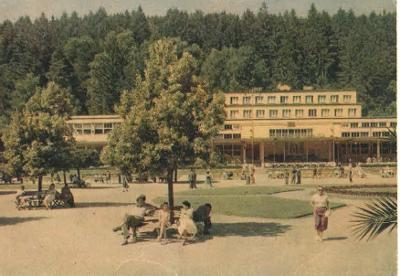 Luhačovice - Společenský dům - 1960