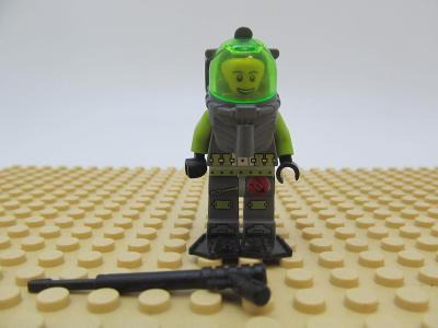 LEGO figurka Atlantis Diver  - Bobby