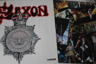 Saxon – Strong Arm Of The Law LP 1980 vinyl Germany 1.press NM