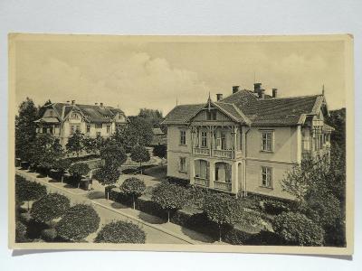 Lázně Velichovky, Jaroměř, Náchod - Vilová čtvrť 1942