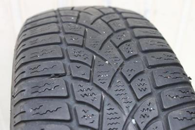 2 ks Zimní pneu Dunlop (použité)