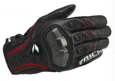 Motocyklové kožené rukavice TAICHI
