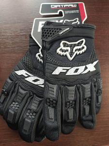 Motokrosové rukavice FOX černé