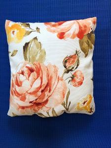 Polštář s obsahem levandulového květu - cca 45 cm - květy