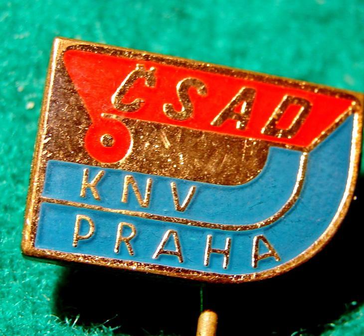 odznak ČSAD PRAHA KNV /9 - Faleristika