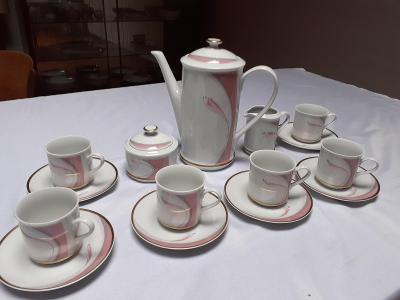 Porcelánový servis Loučky - retro