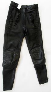 Kožené dámské kalhoty - vel. S/36, pas: 64 cm