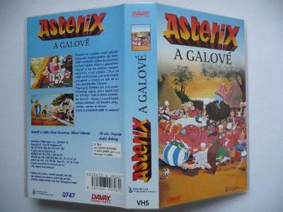 Asterix a Galové - Francie 1967