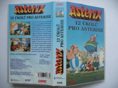 Asterix - 12 úkolů pro Asterixe - Francie 1976