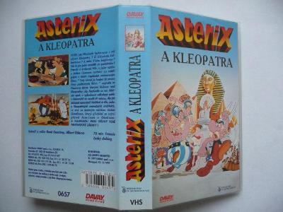 Asterix a Kleopatra - Francie 1968