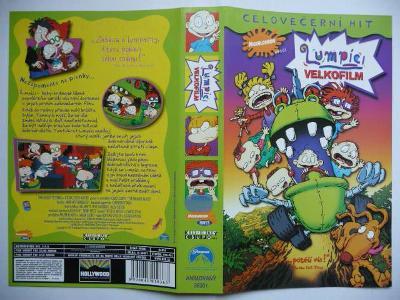 Lumpíci - Velkofilm - The Rugrats Movie - USA 1998