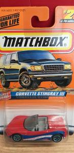 MATCHBOX 1998  ´´ CORVETTE STINGRAY III ´´