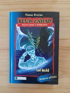 Loď duchů klub záhad napínavé příběhy Thomas Brezina