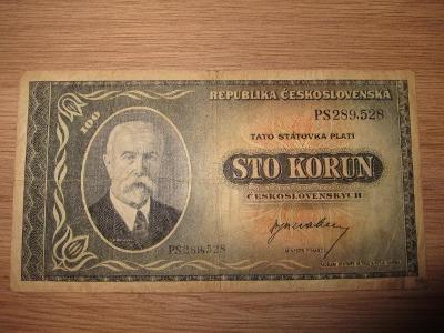 100 korun československých