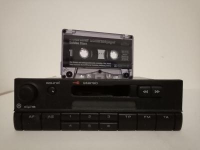 Kazetové Rádio Do Auta Volkswagen Alpha